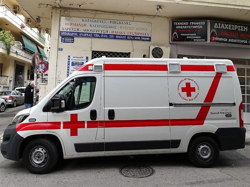 Ο Ερυθρός Σταυρός επισκέπτεται τον ξενώνα της Κάριτας Ελλάς στα Πατήσια