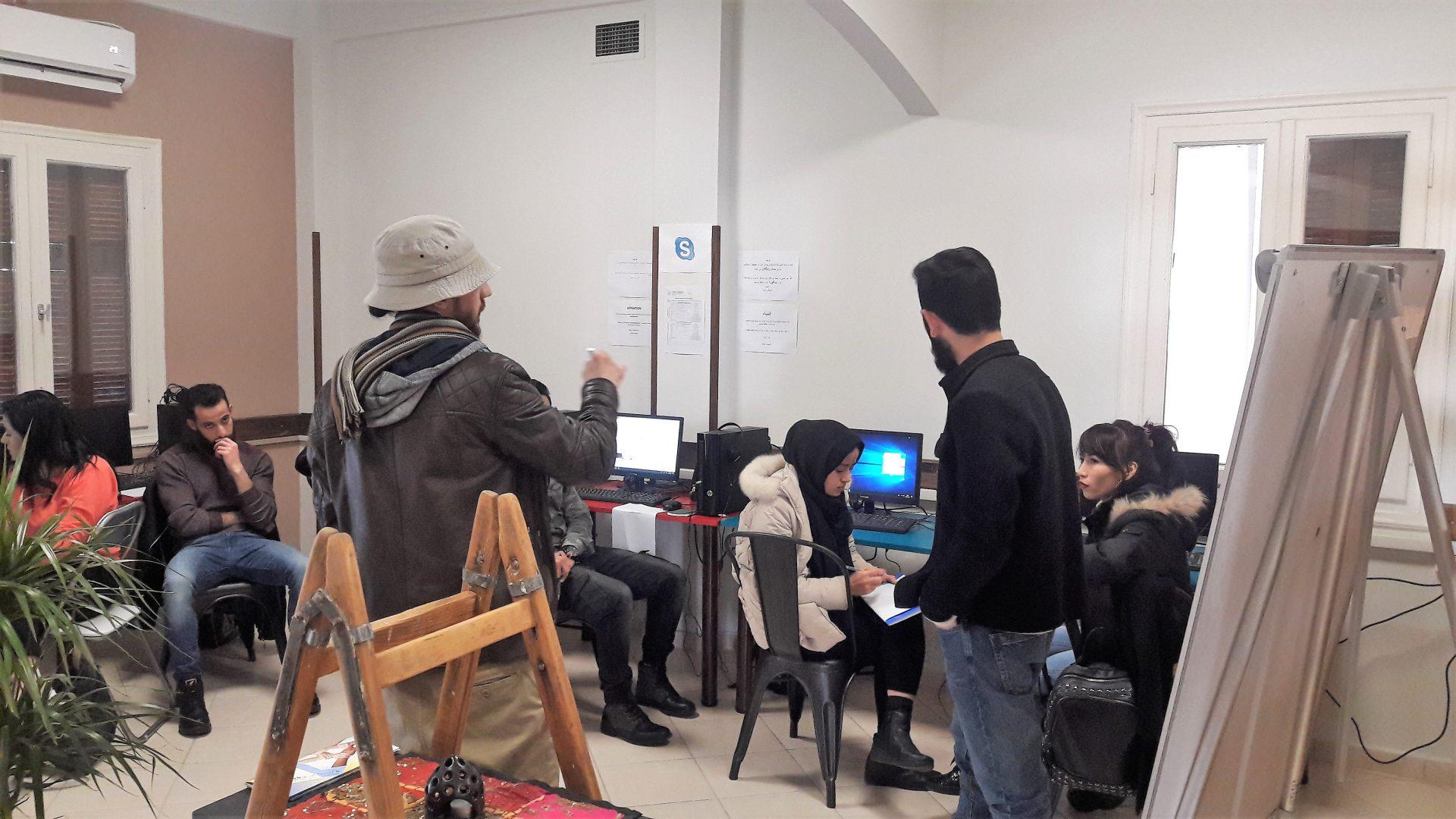 Εκπαίδευση Προσφύγων στη χρήση ηλεκτρονικού υπολογιστή