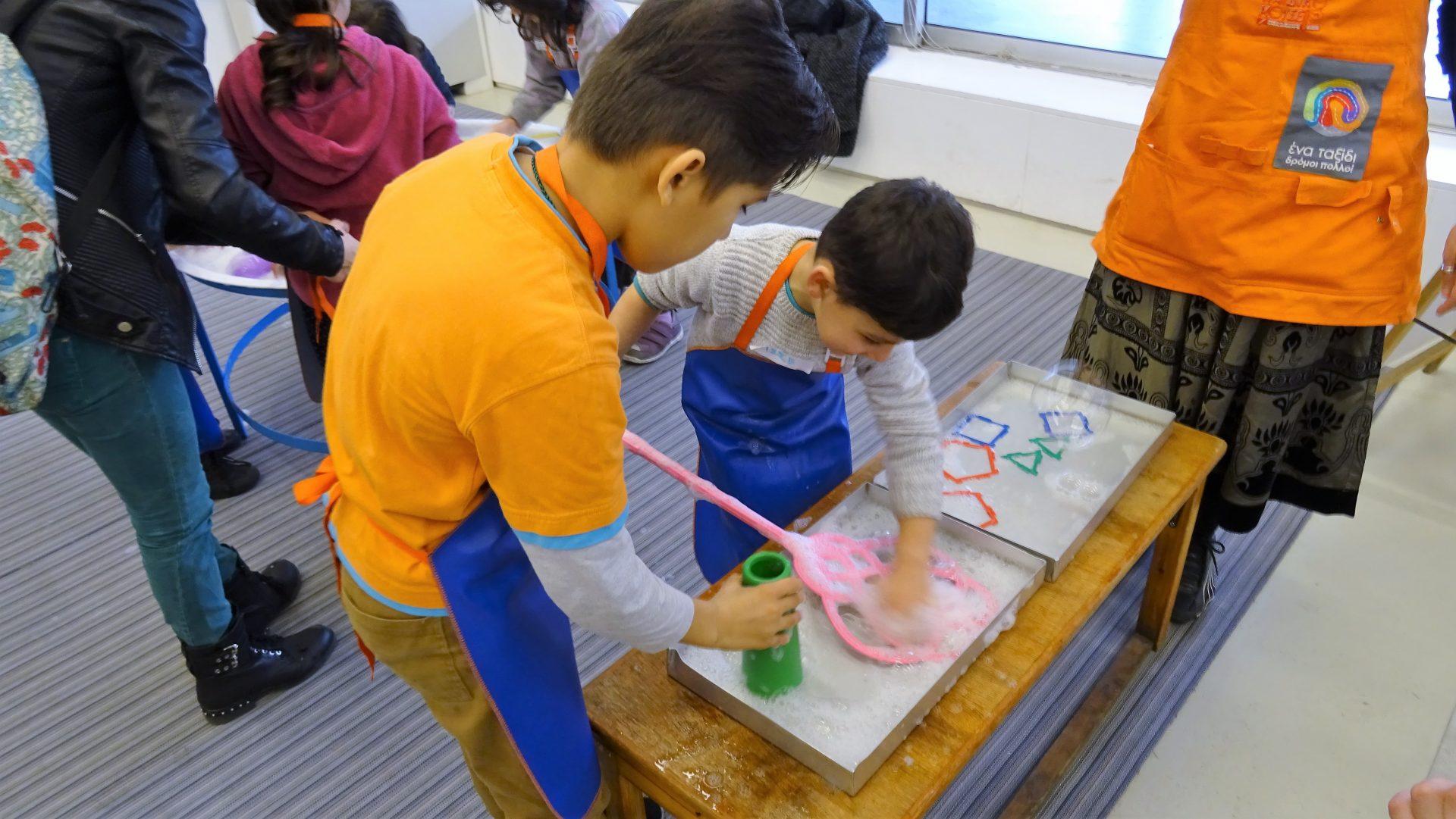 Το Κοινωνικό Κέντρο της Κάριτας Ελλάς επισκέπτεται το Eλληνικό Παιδικό Μουσείο