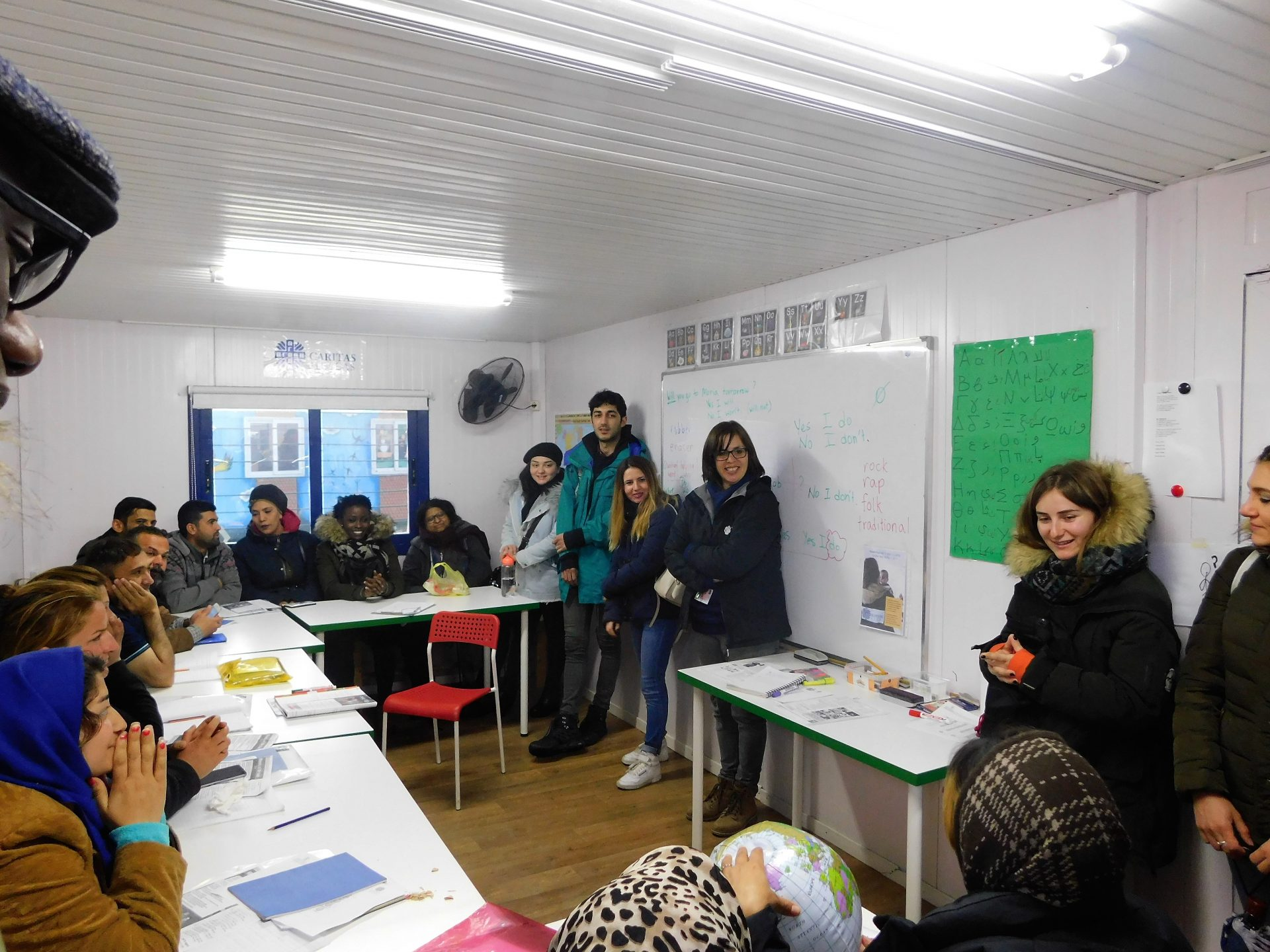 Φοιτητές από γερμανικό πανεπιστήμιο στη Λέσβο