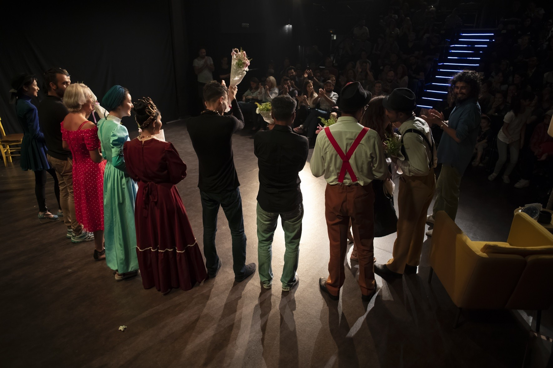"The Theatrical Group of Caritas Hellas in ""PK"" Theater in Neos Kosmos"