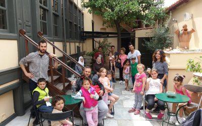 Η Κάριτας Ελλάς στο Μουσείο Ελληνικής Παιδικής Τέχνης