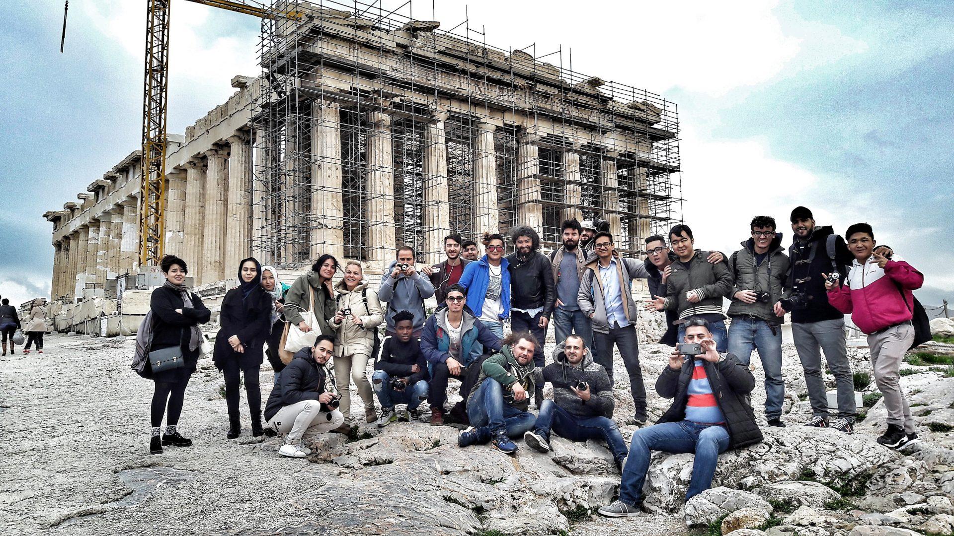 «Η Αθήνα μέσα από τα μάτια των προσφύγων»