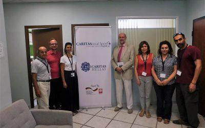Ο Γερμανός Αναπληρωτής Πρόξενος στο Κοινωνικό Κέντρο της Θεσσαλονίκης