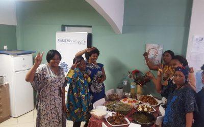 African Festival at the Caritas Hellas Social Spot in Neos Kosmos