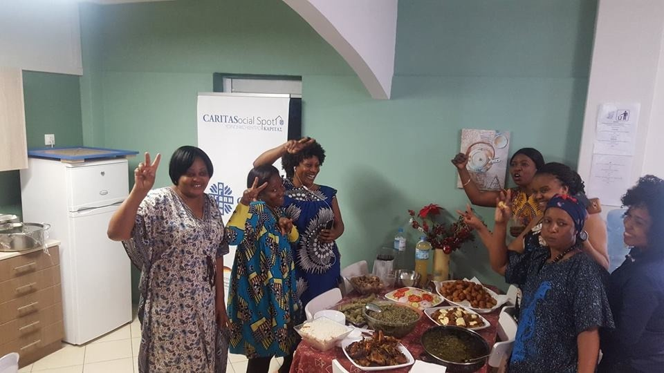 African Festival at the Caritas Hellas Social Spot in Neos Kosmos