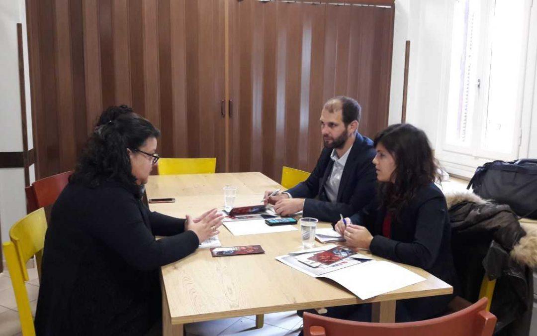 Επίσκεψη εκπροσώπων του Υπουργείου Δικαιοσύνης της Γαλλίας στο Κοινωνικό Κέντρο του Νέου Κόσμου