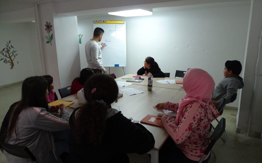 Δυναμικά ξεκίνησε η ενισχυτική διδασκαλία στα  προσφυγόπουλα της Καλλιθέας