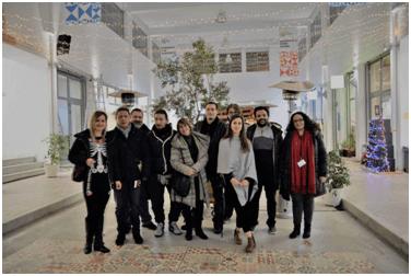 "Visit of the ""Second Chance"" School of OKANA to the Kypseli Center"
