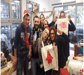Christmas Celebration at the Center for Social Inclusion and Employability in Kypseli