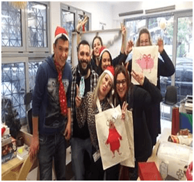 Christmas Celebration at the Center for Social Integration and Employability in Kypseli