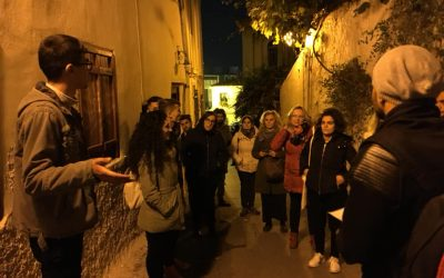 """Tour guide to Plaka by the """"Discover Athens"""" Group"""