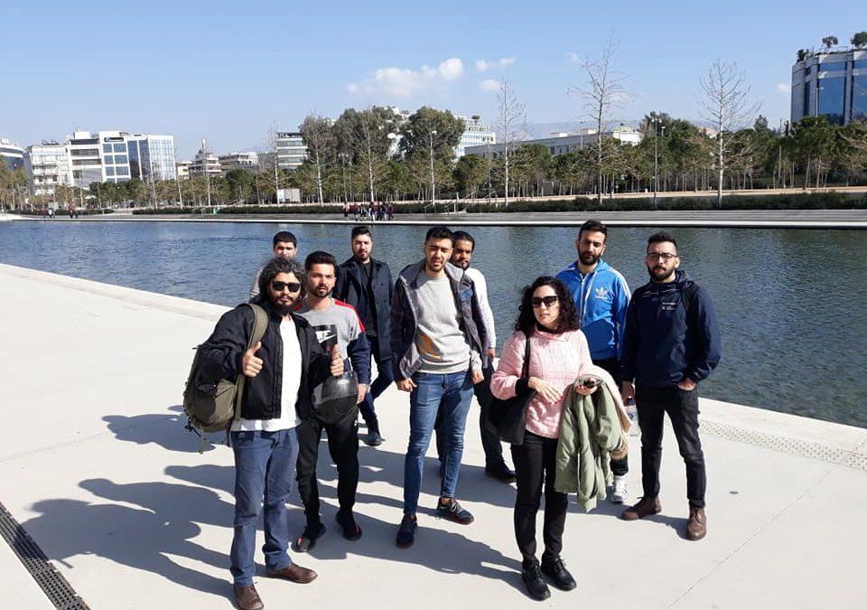 Η ομάδα νέων «Ανακαλύπτοντας την Αθήνα» στο Κέντρο Πολιτισμού Ίδρυμα Σταύρος Νιάρχος