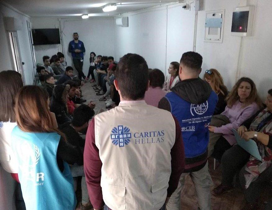 Ιnformative event to unaccompanied minors on Chios island