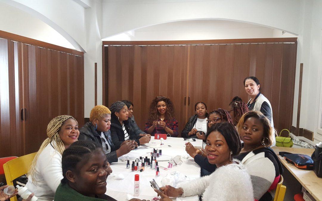 """""""Women Day"""" at the Social Spot of Caritas Hellas in Neos Kosmos"""