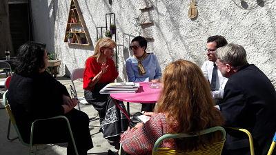 Επίσκεψη του Προέδρου του Ομοσπονδιακού Γραφείου Μετανάστευσης και Προσφύγων της Γερμανίας