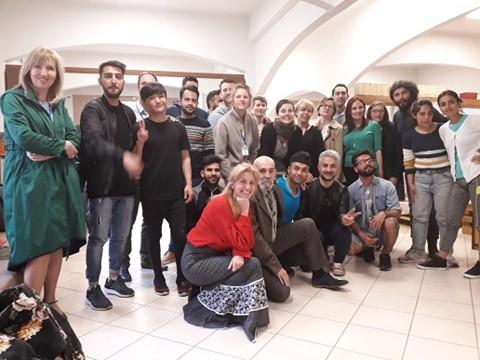 """Επίσκεψη του Δικτύου """"LIKE"""" στα Κοινωνικά Κέντρα της Κάριτας Ελλάς στην Κυψέλη και στο Νέο Κόσμο"""