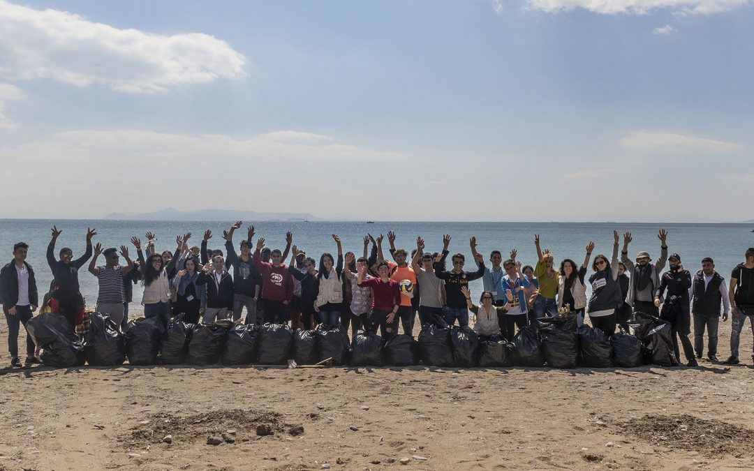 Volunteer Activity of Caritas Hellas for the International Earth Day