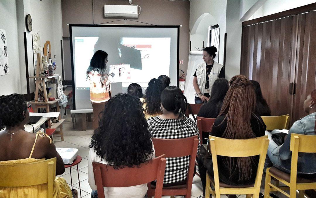 Ενημερωτικό σεμινάριο για τις γυναίκες του Κοινωνικού Κέντρου της Κάριτας Ελλάς στο Νέο Κόσμο σε συνεργασία με την οργάνωσηAMURTEL