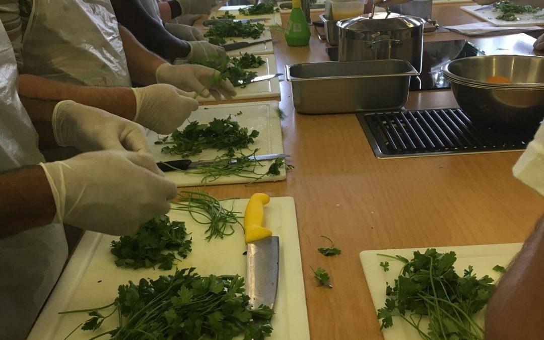 Πρώτο Μάθημα του σεμιναρίου κατάρτισης στην τέχνη της μαγειρικής!