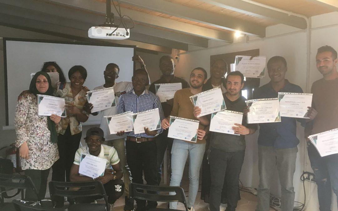 «Ημέρα Αποφοίτησης» των συμμετεχόντων στο σεμινάριο κατάρτισης  στο Social Media Marketing