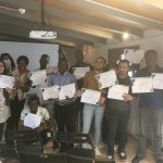 """Graduation Day"" of the participants in the training seminar at Social Media Marketing"