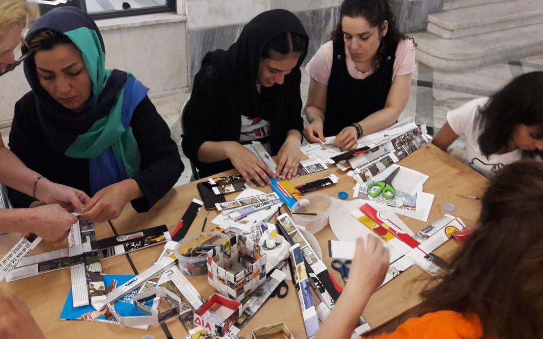 Ολοκληρώθηκε ο κύκλος των εργαστηρίων «Upcycling project» από τη «σχεδία art» προς τους ωφελούμενους του Κοινωνικού Κέντρου της Κάριτας Ελλάς στο Νέο Κόσμο