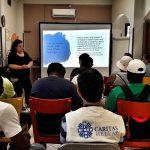 ''Housing lab'' at Caritas' Social Spot in Neos Kosmos
