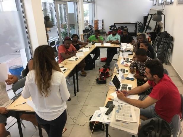 Έναρξη εργαστηρίων αναζήτησης εργασίας στο Κέντρο Κοινωνικής Ένταξης και Απασχολησιμότητας της Κάριτας Ελλάς στην Κυψέλη